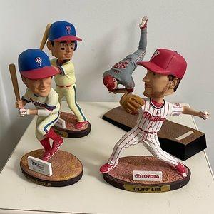 Philadelphia Phillies Bobbleheads and Figurine
